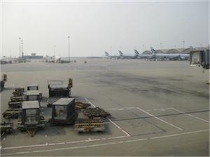 Flygplats i Hong Kong, Kina
